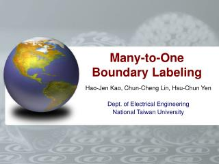 Many-to-One Boundary Labeling