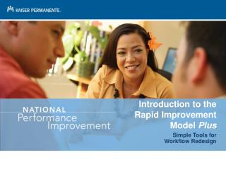 Introduction to the Rapid Improvement Model  Plus