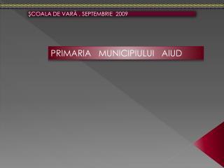 ? COALA DE VAR ?  , SEPT E MBRIE  2009