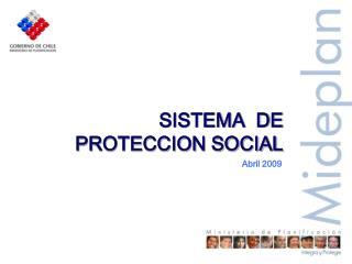 SISTEMA  DE PROTECCION SOCIAL