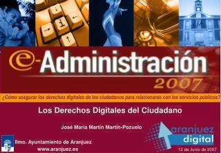 Ilmo. Ayuntamiento de Aranjuez aranjuez.es