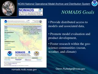 Provide distributed access to models and associated data,