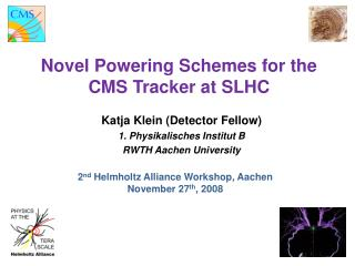 Novel Powering Schemes for the  CMS Tracker at SLHC