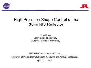 NEXRAD in Space (NIS) Workshop