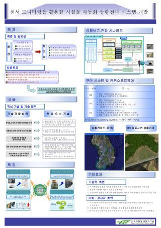 센서 모니터링을 활용한 시설물 자동화 상황전파 시스템 개발