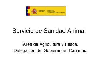 Servicio de Sanidad Animal