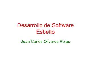 Desarrollo de Software Esbelto