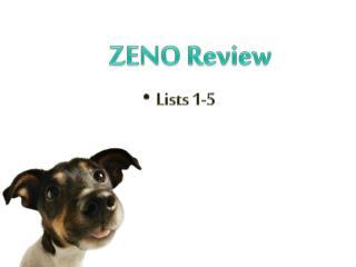 ZENO Review
