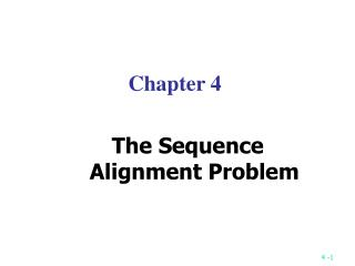 The Longest Common Subsequence LCS Problem