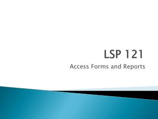 LSP 121