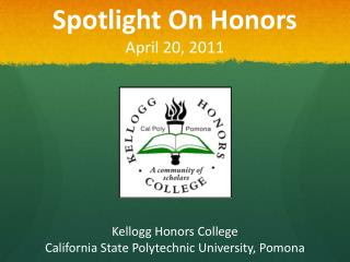 Spotlight On Honors April 20, 2011