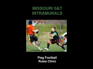 Flag Football Rules Clinic