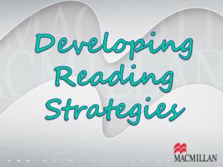 Developing Reading  Strategies