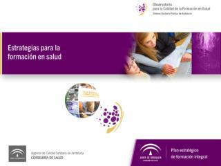 PLAN ESTRATEGICO DE FORMACION INTEGRAL DEL SSPA (junio 2009)