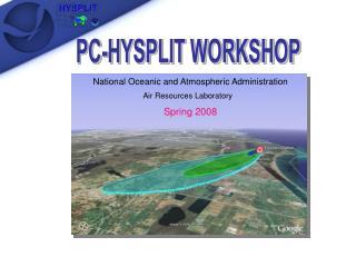 PC-HYSPLIT WORKSHOP