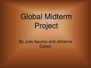 Global Midterm Project