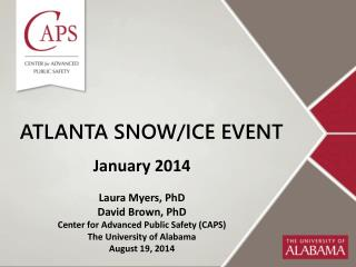 Atlanta snow/ice event