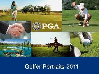 Golfer Portraits 2011
