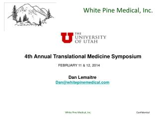 4th Annual Translational Medicine Symposium