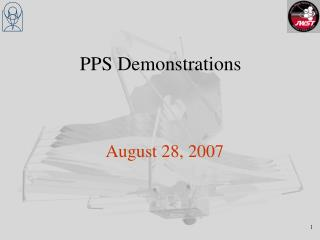 PPS Demonstrations