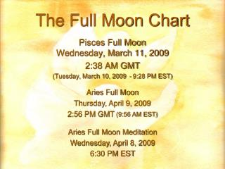 The Full Moon Chart