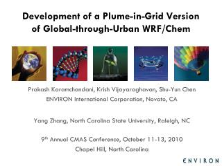 Development of a Plume-in-Grid Version of Global-through-Urban WRF/Chem