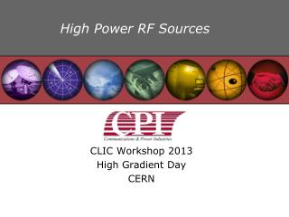 High Power RF Sources