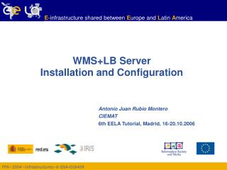 WMS+LB Server  Installation and Configuration