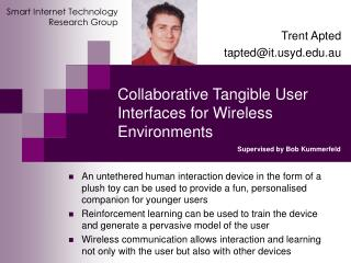 Collaborative Tangible User Interfaces for Wireless Environments