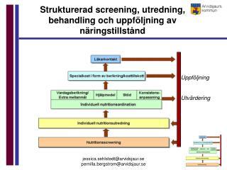 Strukturerad screening, utredning, behandling och uppföljning av näringstillstånd