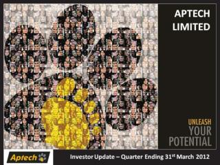 APTECH LIMITED Investor Update - Q4 FY 2011-12 (Final)