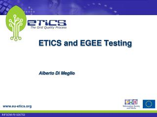 ETICS and EGEE Testing
