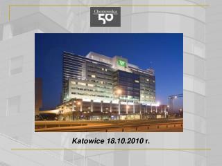 Katowice 18.10.2010  r.