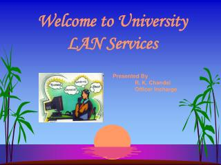 Welcome to University LAN Services