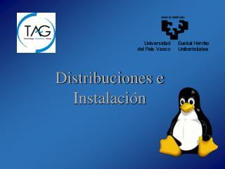 Distribuciones e Instalación