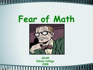 Fear of Math
