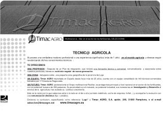 TECNIC@  AGRICOLA