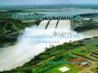 GENERACIÓN DE POTENCIA