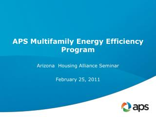 APS Multifamily Energy Efficiency Program