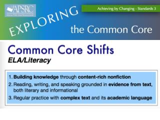 Literacy Shifts