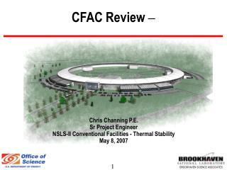 CFAC Review  –