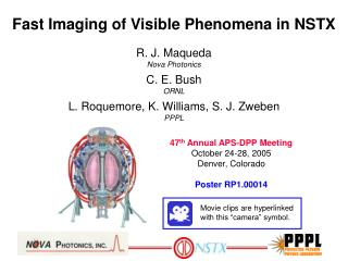 Fast Imaging of Visible Phenomena in NSTX