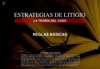 ESTRATEGIAS DE LITIGIO