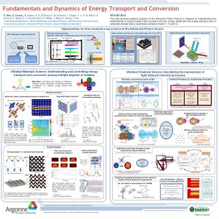 Fundamentals and Dynamics of  Energy  Transport  and  Conversion