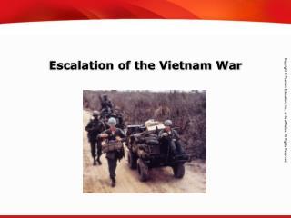 Escalation of the Vietnam War