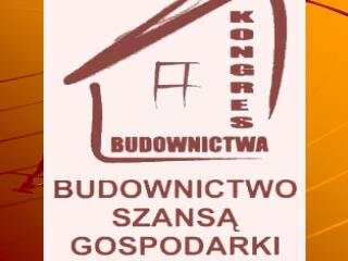 SYTUACJA MIESZKANIOWA W POLSCE    NA TLE DOSWIADCZEN EUROPEJSKICH Roman Nowicki  Przewodniczacy  Kongresu Budownictwa
