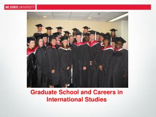 Graduate School and Careers in International Studies