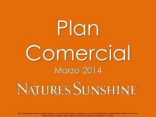 Plan Comercial Marzo 2014