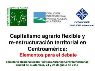 Seminario Regional sobre Políticas Agrarias Centroamericanas