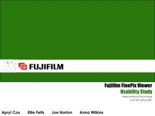 Fujifilm FinePix Viewer Usability Study